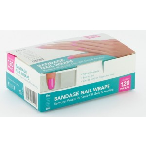 Bandage Nail Wraps (Box 120)