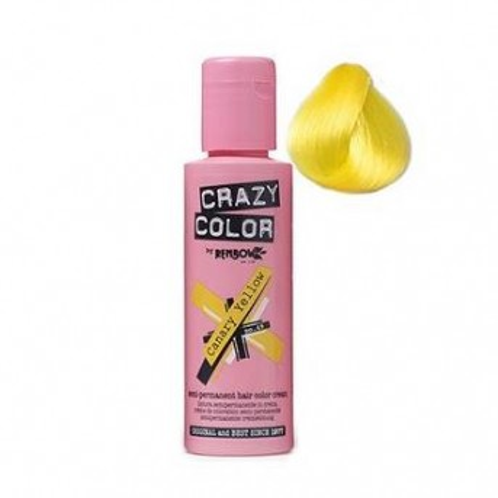 Crazy Colour Canary Yellow Single Unit