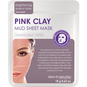 Pink Clay Mud Mask