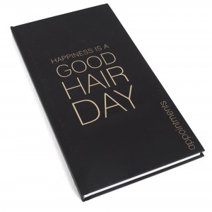 Appointment Book 3 Column Black (Ghd)