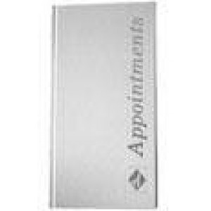 Appointment Book 3 Column White (Beauty)