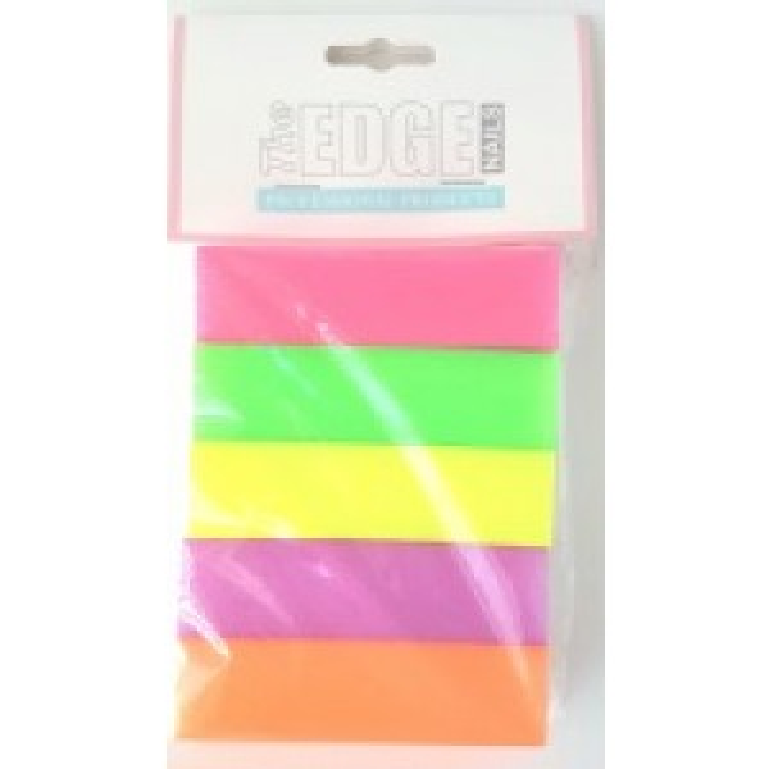 Mixed Neon 100/100 4 Way Blocks 5Pk