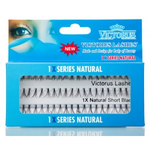 Victorus Natural Lashes Small Black