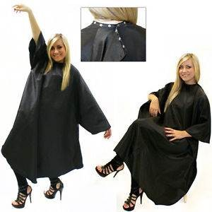 Hairtools Unisex Gown With Poppers