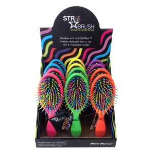 Str Detangle & Shine Brush Display Stand