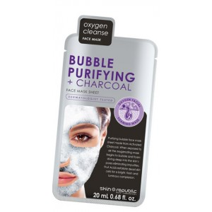 Bubble Purifying + Charcoal Mask 20Ml