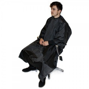 Hairtools Pinstripe Barber Gown