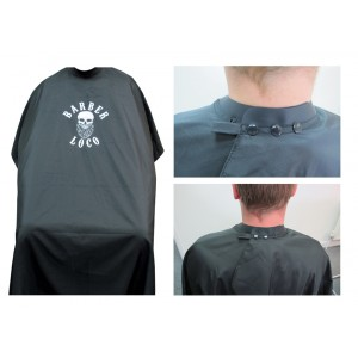 Barber Loco Neoprene Collar Gown
